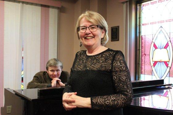 Myself and my Collaborative Pianist